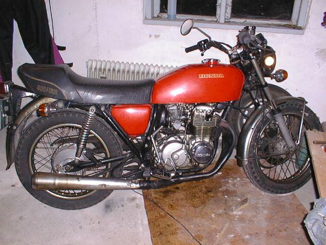 honda cb400 four. Honda CB400 four, 1976